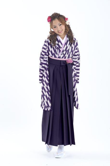 <h1>卒業式の生徒のための着物!ショート丈は足さばきが楽です。</h1>